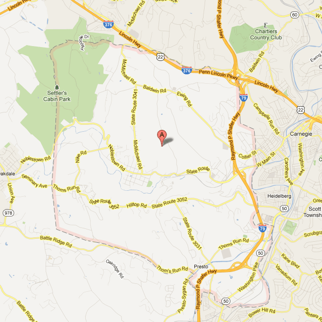 View a map of Collier Township.