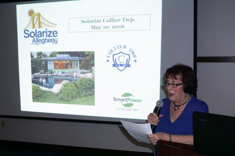 Presenter at Solarize Collier