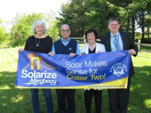 Solarize Allegheny, Solar Make Sense for Collier Township!
